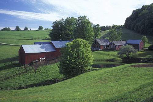 האידיאליזציה של הפסטורליה האמריקאית, הרעיון שכל בית אמריקאי צריך להיות נטוע בחווה (צילום: Mark Goebel Flicker.com)