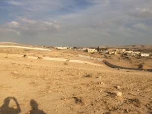 הרס היישוב הבדואי חירן לצורך הקמת יישוב יהודי (צילום: ארז צפדיה)