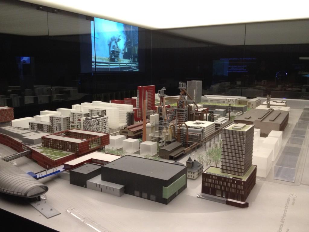 מודל תוכנית בלבל להקמת רובע עירוני חדש מרובה שימושים (צילום: ihelbig, Flickr.com)