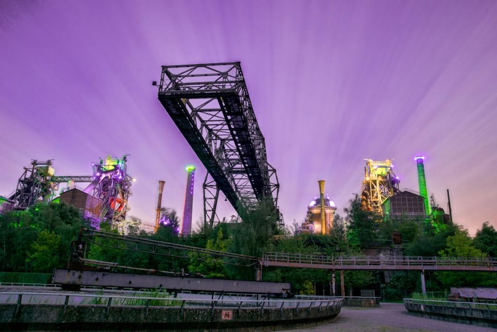 הפארק בלילה (צילום: Flickr.com ,Christian Hoppe)