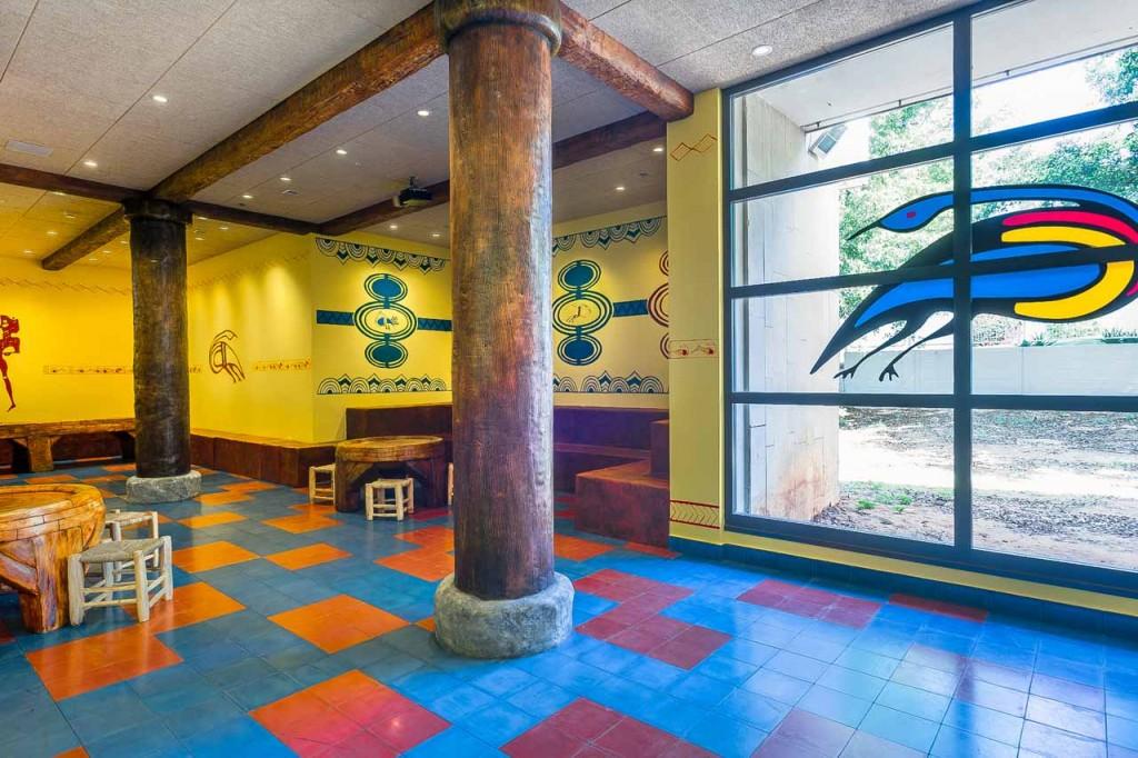 מוזיאון הפלישתים באשדוד שהייתה אחת מחמש הערים החשובות בתקופת הפלישתים (ציום באדיבות משרד גיל מינסטר אדריכלים)