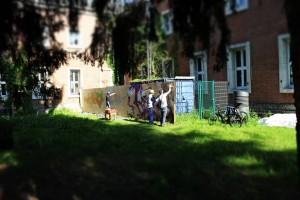 """אפשר לראות שהמושג """"מעבדה"""" מקבל פרשוניות ושימושים שונים, ארגון """"urban lab"""" בגרמניה נועד לאפשר לאזרחים לנכס את תהליך הפיתוח העירוני באמצעות סדנאות, ייעוץ ופיתוח קהילה ורשתות. (מתוך עמוד הפייסבוק של urban lab)"""