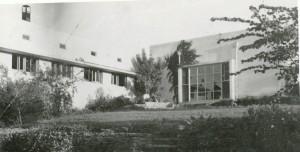 חדר האוכל בגבעת השלושה 1939
