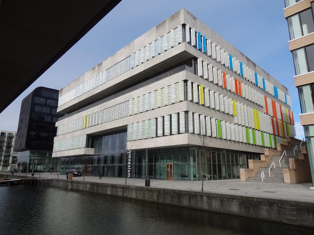 בית ספר Ørestad College בקופנהגן (Flickr: William Veerbeek)